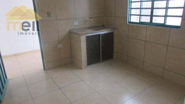Edícula com 1 dormitório para alugar, 36 m² por R$ 550,00/mês - Vila Malaman - Presidente  - Foto 8