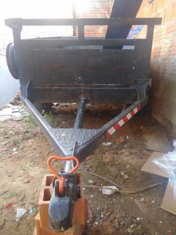 Vendo / troco em tijolos um reboque * ZAP e ligações - Foto 2