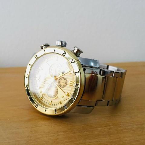 1d4d71dbc68 Relógio Bvlgari Iron Man Ouro - Bijouterias