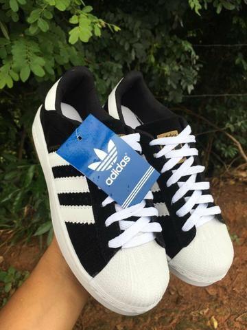 19ed3b14b8 Tenis Adidas SuperStars Atacado Promoção - Roupas e calçados - Nova ...