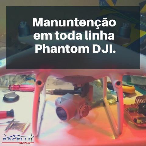 Manutenção Drones DJI Phantom 3 4 Standart Advanced Profissional Mavic