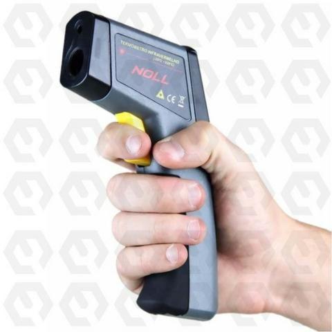 Termômetro Digital Infravermelho Celsius ou Fahrenheit -20°C ~ 320°C a Bateria - Noll - Foto 3