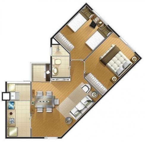 Apartamento com 2 dormitórios para alugar, 50 m² - Jardim Umuarama - São Paulo/SP - Foto 4
