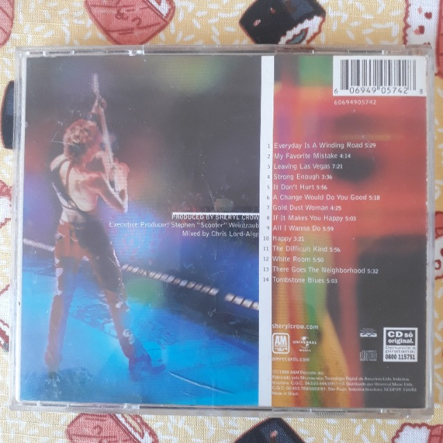 CD Sheryl Crow and Friends - Live from Central Park - Foto 3