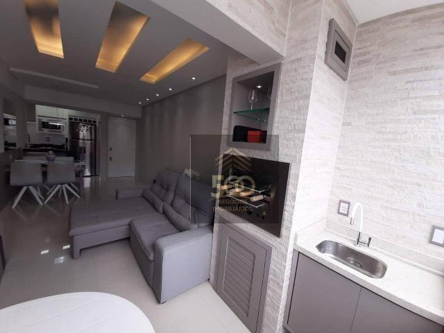 Apartamento com 2 dormitórios à venda, 60 m² por R$ 350.000 - Coqueiros - Florianópolis/SC - Foto 4