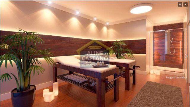 Apartamento à venda com 2 dormitórios em Guilhermina, Praia grande cod:JG07477 - Foto 6