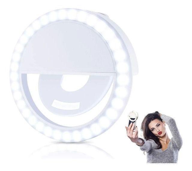 Clipe Anel Luz Led Pra Selfie Ring Light Celular