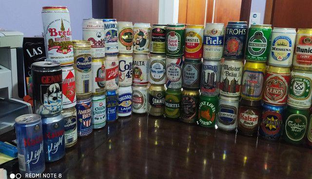 Coleção latas de cerveja antigas - Foto 2