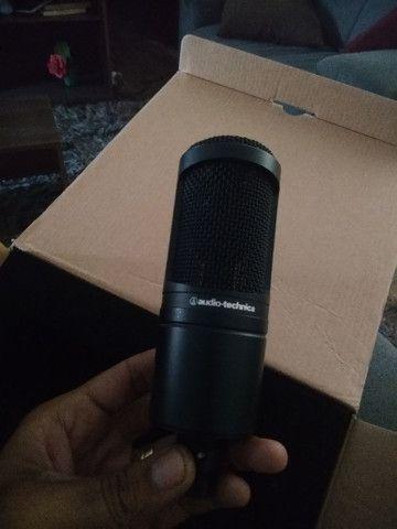 Microfone condensador,audio-tecnica - Foto 3