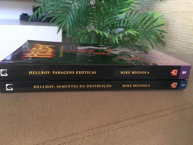 HQs - Hellboy Omnibus Volume 1 e 2 - Foto 2