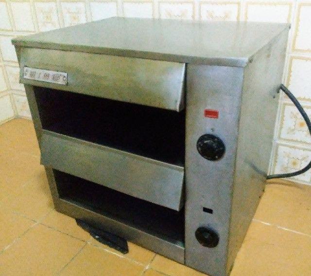 Forno Salamandra elétrica para cozinha - Foto 2