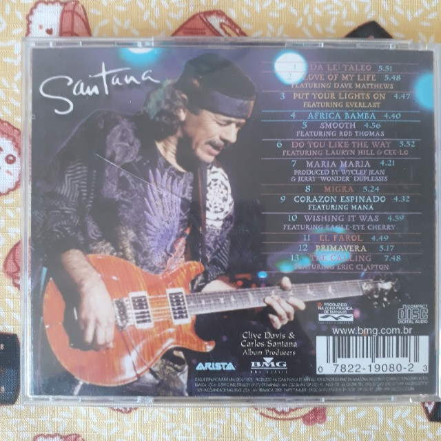 CD Santana - Supernatural - Foto 3