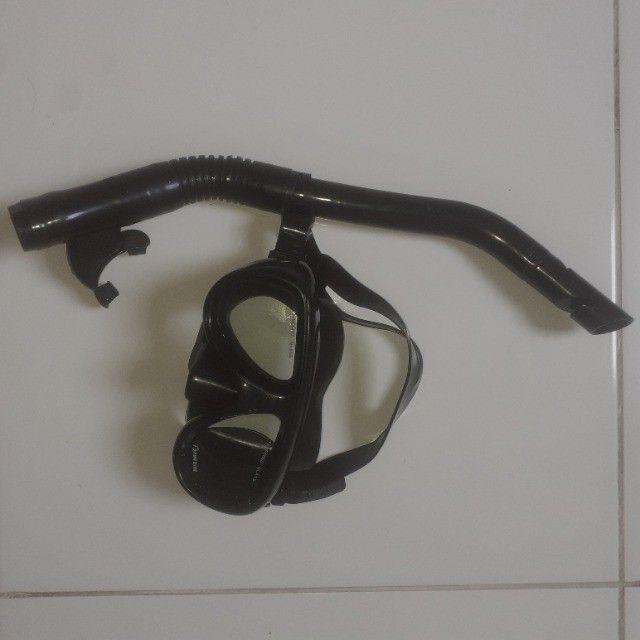Máscara de mergulho com snorkel ( Fundive ) - Foto 5