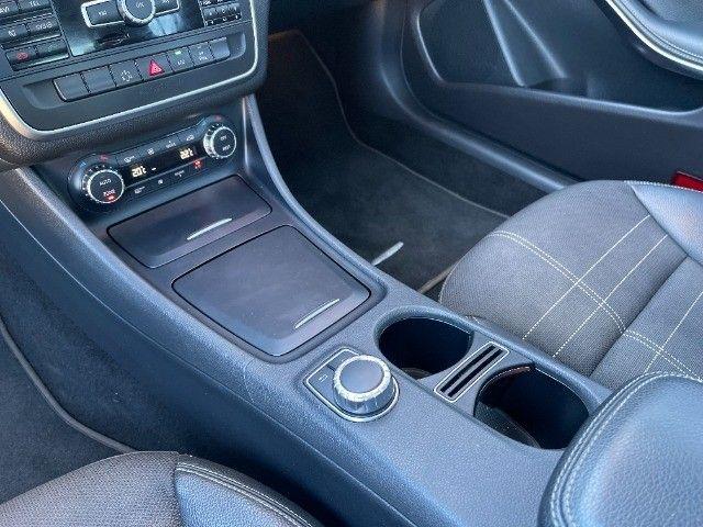 Mercedes CLA 200 Vision 1.6 Turbo 2015!! Carro luxuoso e econômico com 4 pneus novos. - Foto 10