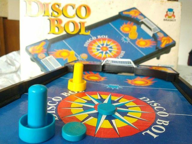 Brinquedo antigo Disco Bol, década de 90