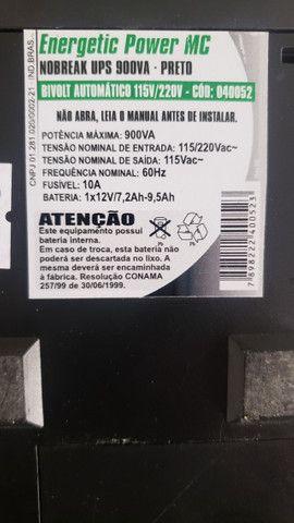 Nobrake 900VA 115/220V sem bateria - Foto 6