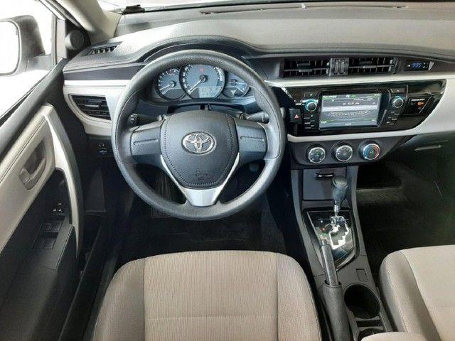 Toyota Corolla Sedan GLI 1.8 16v Automático 2017 Único Dono!!! - Foto 8