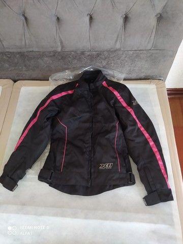 roupa para motociclista X11 tamanho p (s) feminina nova nunca usada - Foto 2