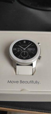 Smartwatch Amazfit GTR A 1910 Branco exclusivo - Foto 2
