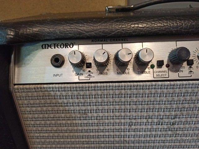 Amplificador c/ Pré Valvulado Vulcano G100 2x10 - Foto 5