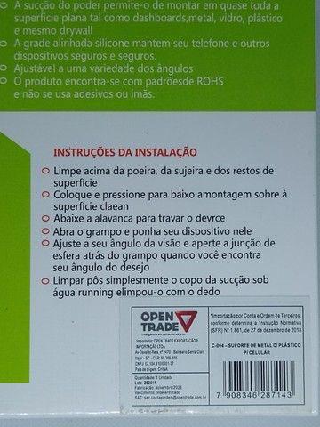 Suporte Veicular Universal Celular Regulagem 360º - Foto 3