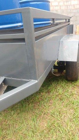 Carretinha em Metal aguenta peso - Foto 5