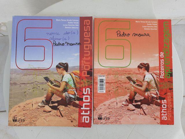 Livros ATHOS 6 ano completo - Foto 2