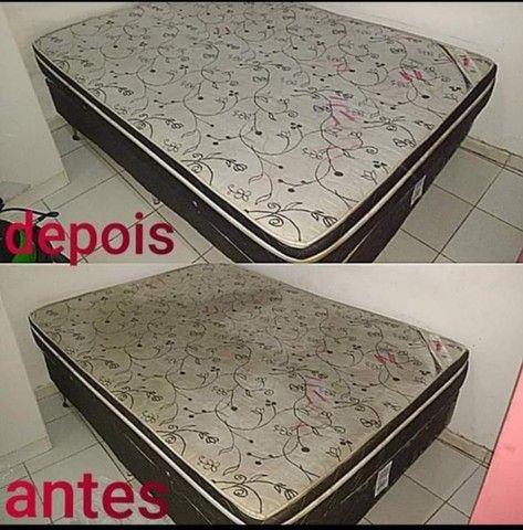 Super promoção Limpeza e higienização de estofados - Foto 5