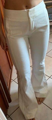 Calça Branca - Foto 2