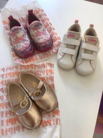 Roupas e calçados infantil menina tamanho 02  - Foto 6