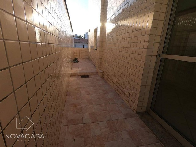 Apartamento Garden com 3 dormitórios para alugar, 97 m² por R$ 1.485/mês - Heliópolis - Be - Foto 7