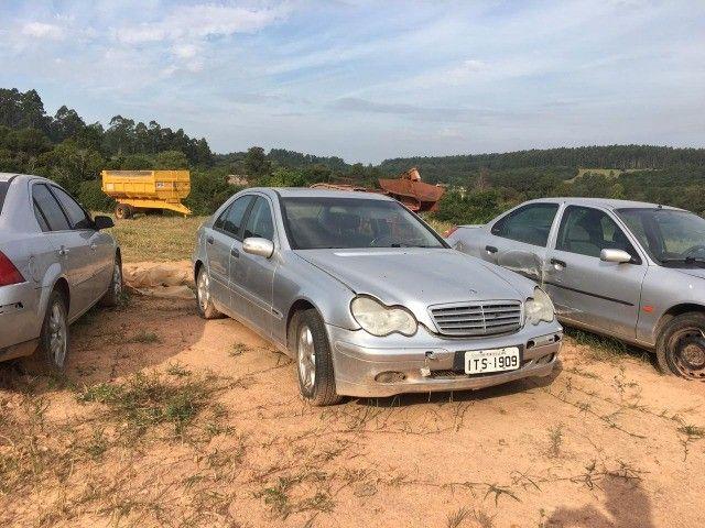 Mercedes bens c180 01/02 peças - Foto 4