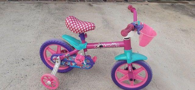 Bicicleta Caloi da minie aro 12 - Foto 4