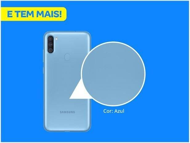 Samsung Galaxy A11 Dual SIM 64 GB azul - Foto 2