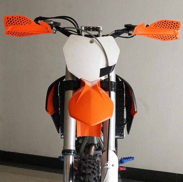 Protetor De Mão Aberto - Moto De Trilha - Enduro - Foto 6