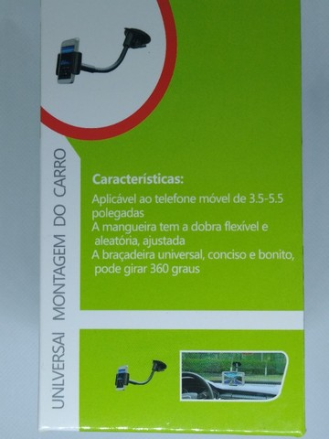 Suporte Veicular Universal Celular Regulagem 360º - Foto 4