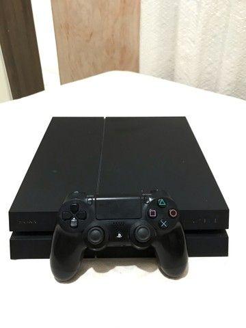 PS4 Preto Fosco Onyx 500GB (seminovo)