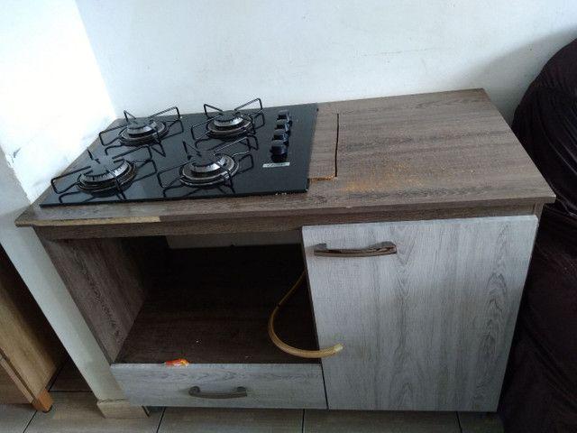 Vendo balcão e fogão cooktop - Foto 2