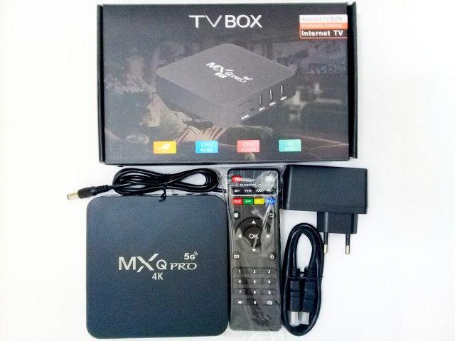 Tv Box 4K Transforma sua tv em Smart