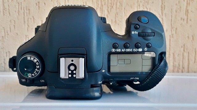 Canon Eos 7d Dslr Cor Preto - Foto 5