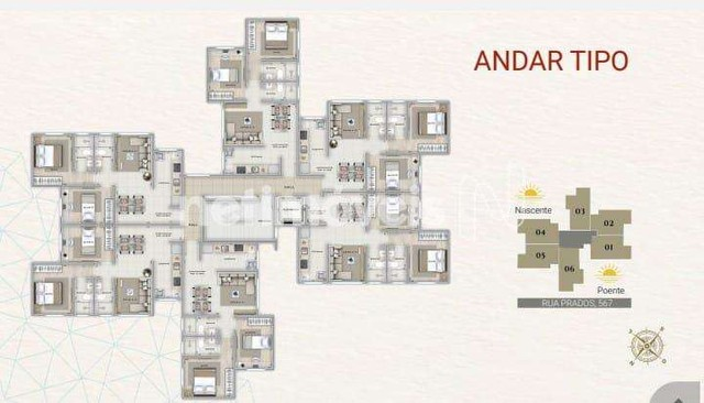 Apartamento à venda com 2 dormitórios em Carlos prates, Belo horizonte cod:849924 - Foto 10