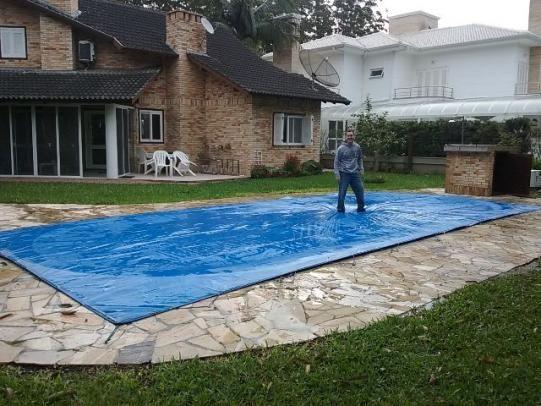 Capa piscina 4 40x2 30 lona prote o materiais de for Piscina 5 metros diametro