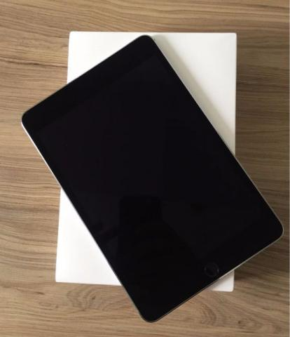 Ipad Mini 4, 128GB Preto. NOVO