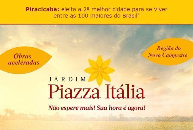 Piazza Itália Lançamento Loteamento,Lotes a Partir de 200m2,Não Precisa Comprovar Renda