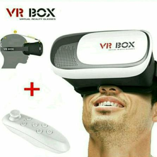 Óculos 3D VR Box + Controle Bluetooth