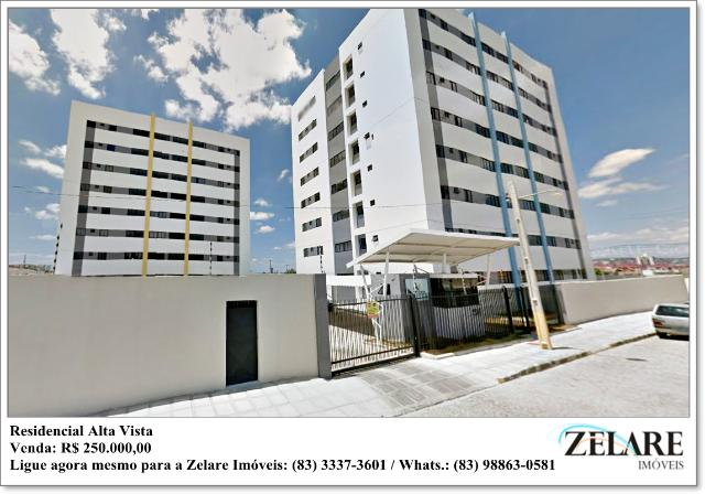 Residencial Alta Vista, 02 Quartos (sendo 01 suíte), Catolé