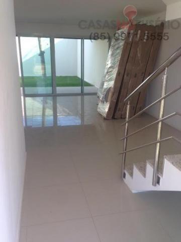 Casa em condominio de 140 m, 3 suites, 2 vagas, nova com lazer, perto ce - Foto 3