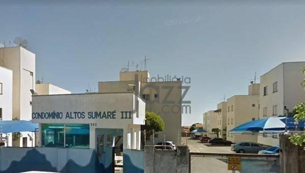 Apartamento com 2 dormitórios à venda, 70 m² por r$ 160.000,00 - parque bandeirantes i (no