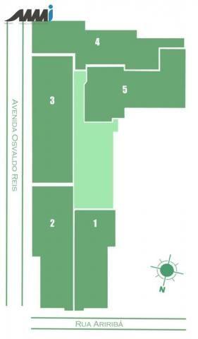 Brava view apartamento com 02 quartos sendo 1 suíte e 63m2 na praia brava - Foto 7