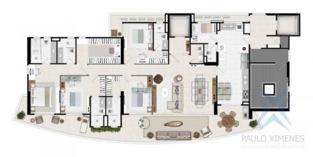Apartamento com 4 dormitórios à venda, 219 m² por r$ 1.844.900 - aldeota - fortaleza/ce - Foto 7